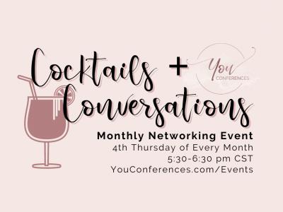 June Cocktails + Conversations